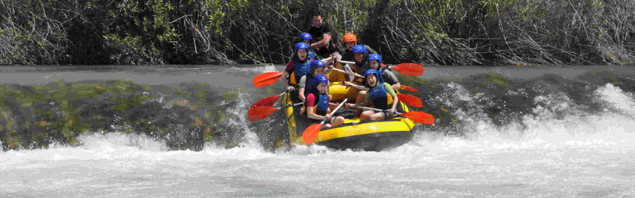 Rafting en Cofrentes
