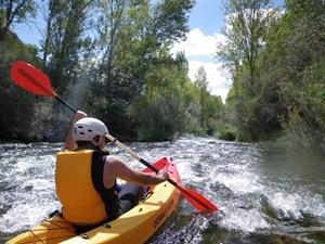 Mix ruta en bicicleta y descenso en canoa en Cofrentes