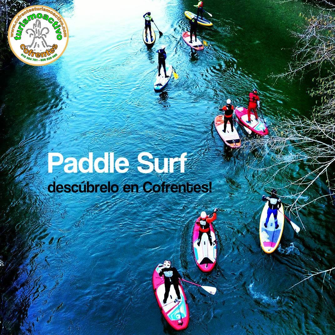 Paddle Surf para todos en Cofrentes