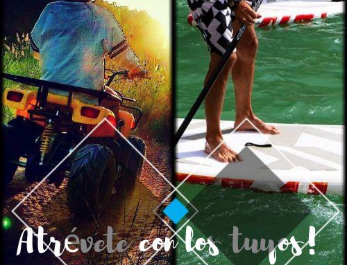 Atrévete con los tuyos: Ruta en Quad y Paddle Surf