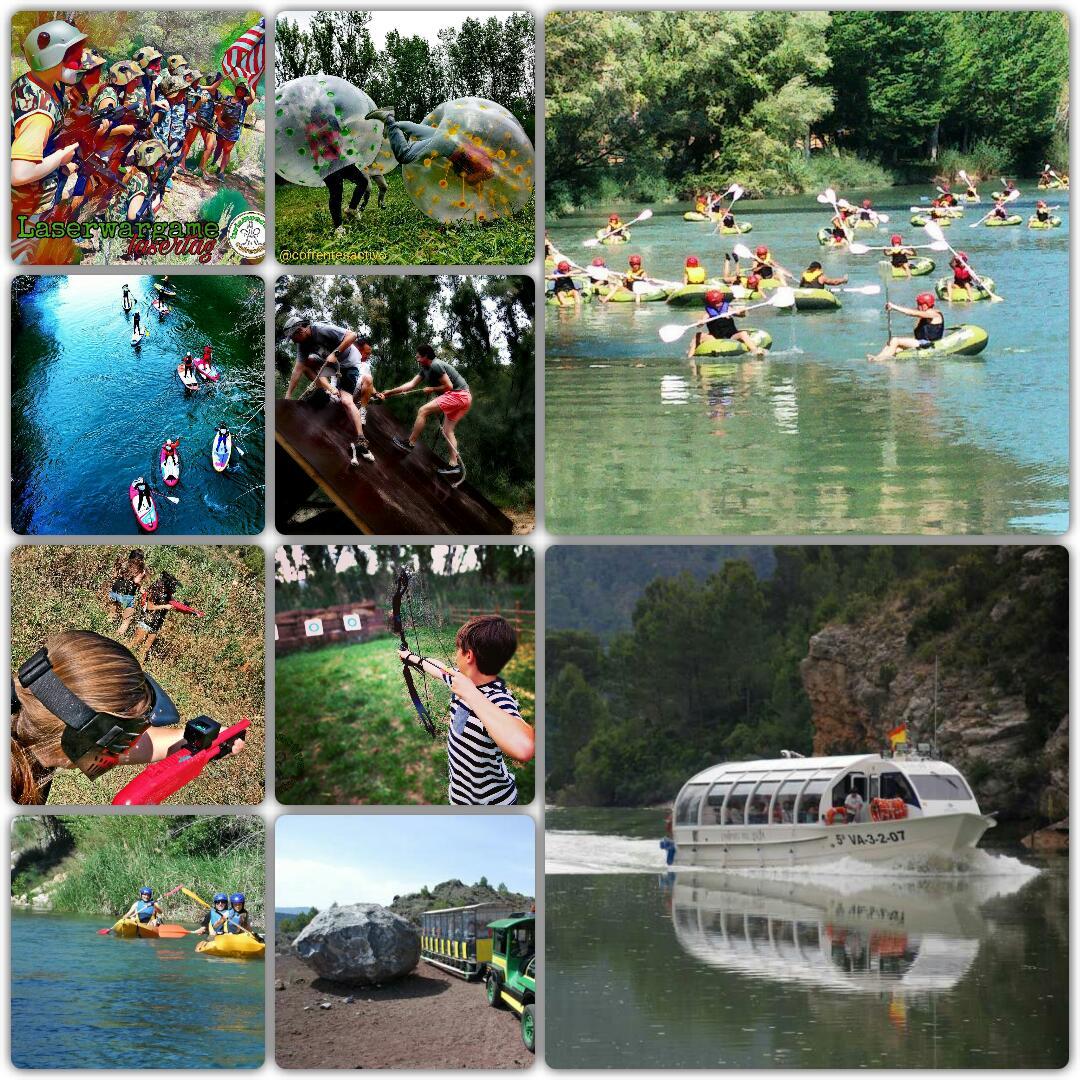 Bienvenidos a la multiaventura, experiencias y turismo familiar