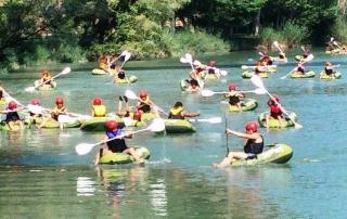 Campamentos multiaventura para colegios en Cofrentes