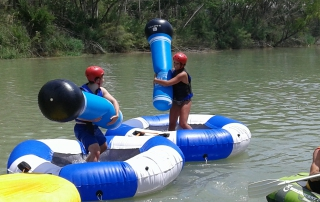 Sports Floats en Cofrentes