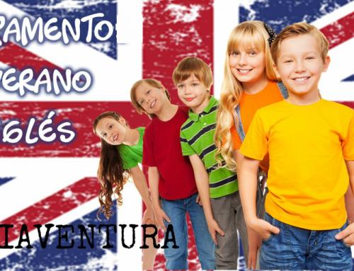 Campamento de Verano 100% multiaventura, con clases de inglés para niños