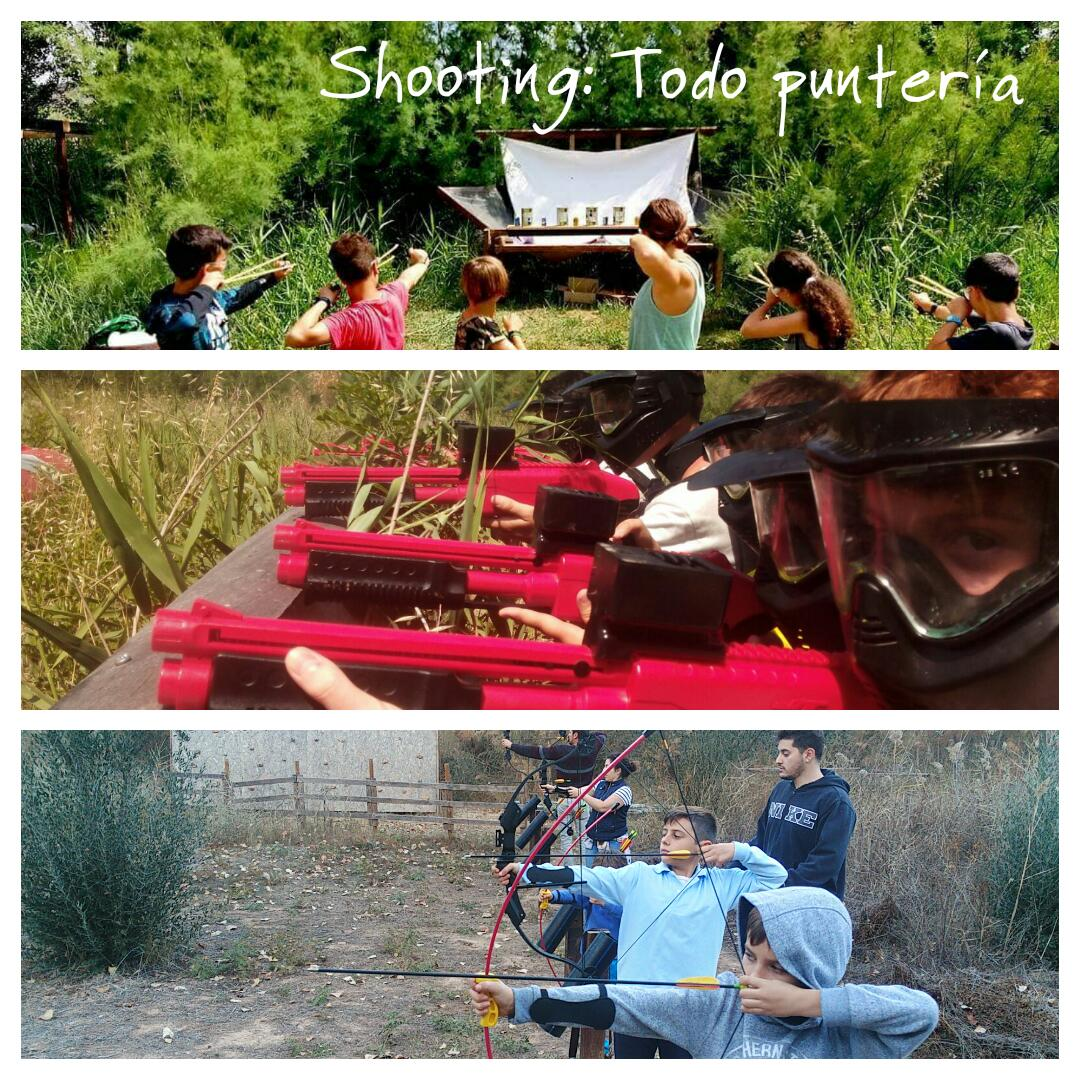 Shooting: Todo puntería. Paintball Soft, Tiro con Arco y Tirachinas